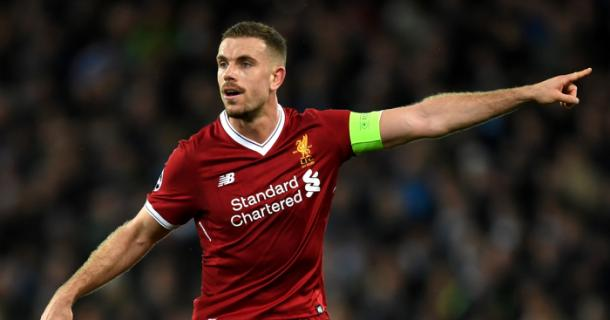 Jordan Henderson is leading his side to their first Premier League title