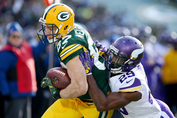 Nelson missing this game is huge for Greenbay. Credit: Dylan Buell/Getty Images North America