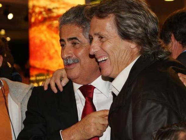 Vieira e Jesus foram uma dupla de sucesso na Luz (Foto: pantominocracia)
