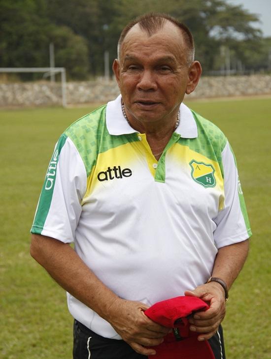 Jorge Luis Bernal, DT del Atlético Huila. Imagen: Atlético Huila