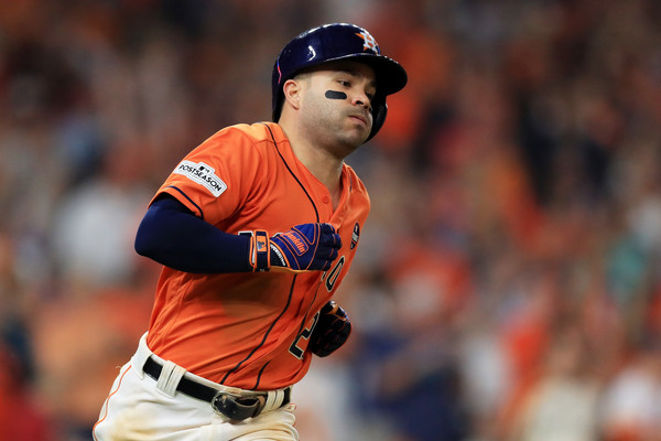 Altuve was the sparkplug for the Astros' offense once again/Photo: Ronald Martinez/Getty Images