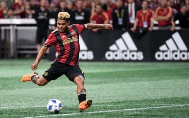Josef Martinez en Atlanta United. Fuente: Atlanta United