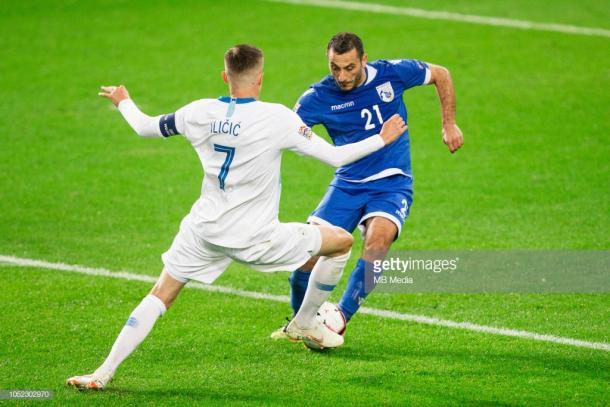Josip Ilicic y Eslovenia descienden a la Liga D de esta Liga de Naciones