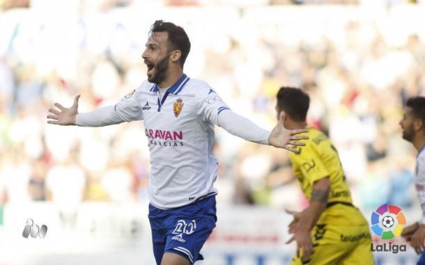 Zaragoza vence e está muito perto de confirmar vaga nos playoffs (Foto: Divulgação/La Liga)