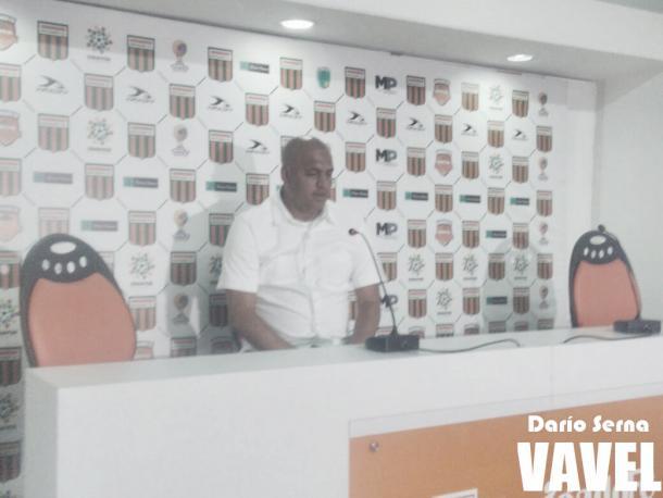 Juan Carlos Muñoz, DT de Envigado FC Formas Íntimas: Foto: Darío Serna