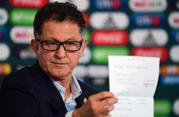 Juan Carlos Osorio, entrenador de la Selección Mexicana de Fútbol | Foto: AFP