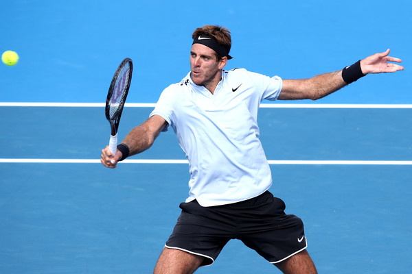 Juan Martin del Potro's forehands failed him at times | Photo: Phil Walter/Getty Images AsiaPac
