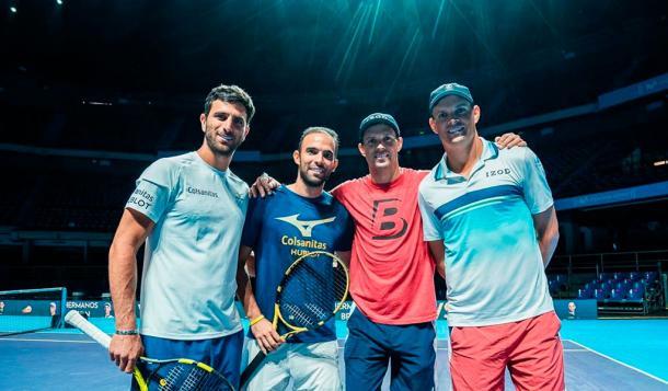 Un encuentro que quedará para la historia, en un año que también quedará para la historia del tenis colombiano. Imagen: Kienyke