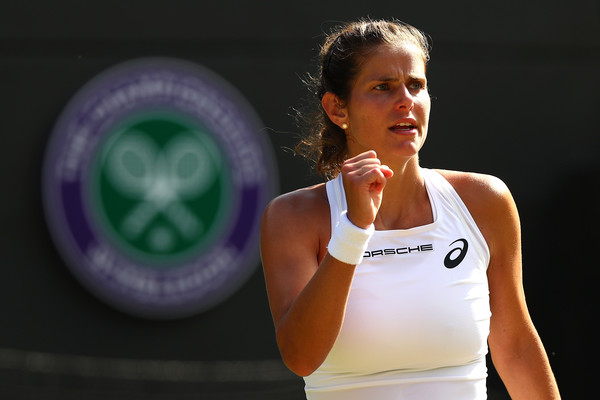 Julia Goerges reached the semifinals of Wimbledon | Photo: Matthew Stockman/Getty Images Europe