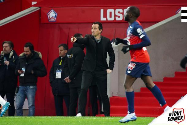 Julien Stéphan, entrenador del Rennes. Fuente: Twitter