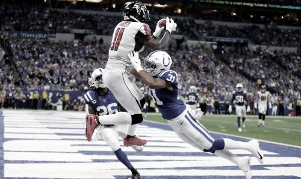 Julio Jones es el receptor con más touchdowns en esta temporada (Imagen: Falcons.com)