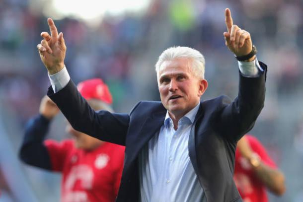 Jupp Heynckes, que voltou ao Bayern nesta temporada, irá se aposentar novamente (Foto: Alexander Hassenstein/Bongarts via Getty Images)