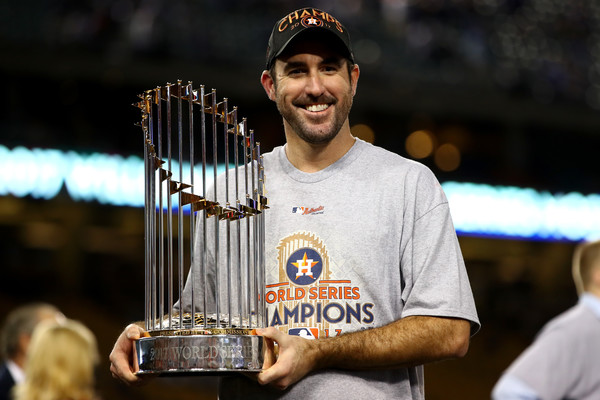 Verlander has his first championship after 13 years/Photo: Ezra Shaw/Getty Images