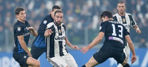 Caldara contro la Juventus | Foto: Bergamo Post