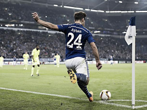 Ayhan's set-pieces are another feather in his cap. (Image credit: kicker)