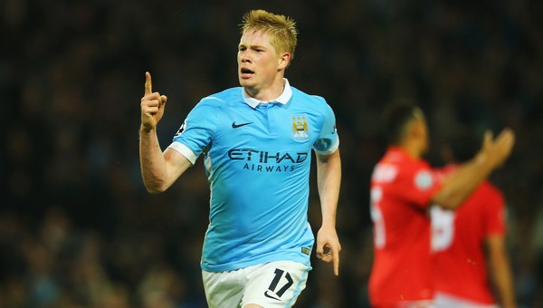 Kevin de Bruyne is our favourite for PFA Player of the Year (photo: Getty)
