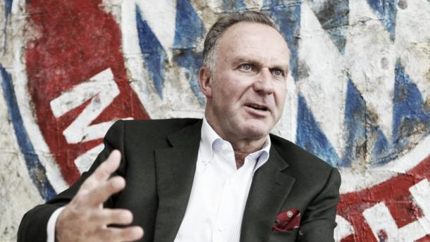 Rummenigge is Bayern's leading figure. | Image source: Eurosport