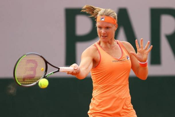 Bertens battled injury and a tough opponent to move on/Photo: Julian Finney/Getty Images