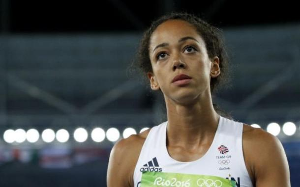A day of ups and downs for Johnson-Thompson. | Source: BBC
