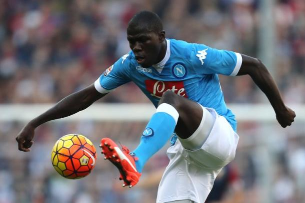 Kalidou Koulibaly in action for Napoli. | Image source: Gazetta