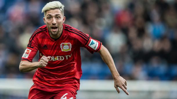 Kampl's loss is a blow to Leverkusen's domestic and European goals. | Image source: Bundesliga