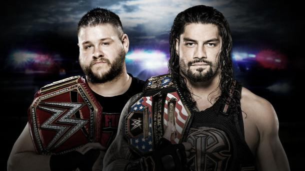 Will Reigns become a double champion? Photo- WWE.com