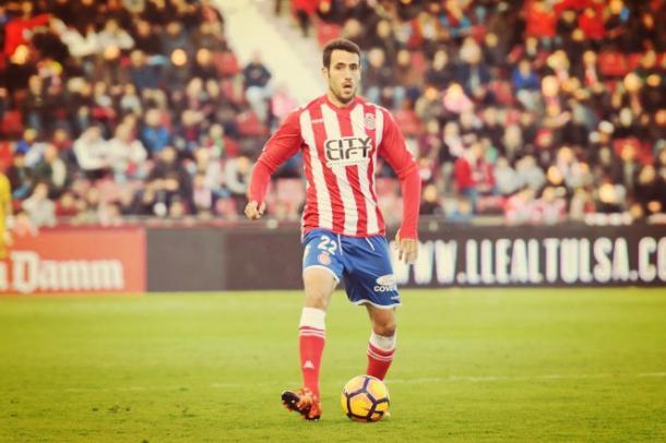 Kiko Olvias posible refuerzo de la zaga vallisoletana. Fuente: Girona FC