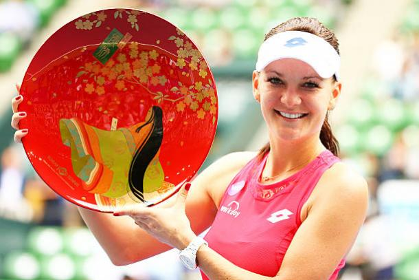 Agnieszka Radwanska won the tournament in 2015 and will be looking for her third title at the tournament (Getty/Koji Watanabe)