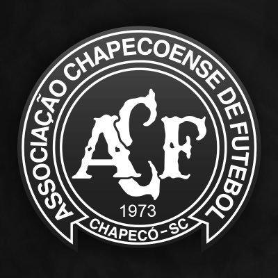 Clubes colocaram escudo da Chape em preto e branco em seus perfis oficiais | Foto: Reprodução/Twitter