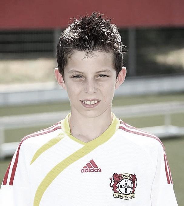 Havertz se juntou ao Leverkusen ainda quando criança. Foto: reprodução/Twitter @bayer04_en