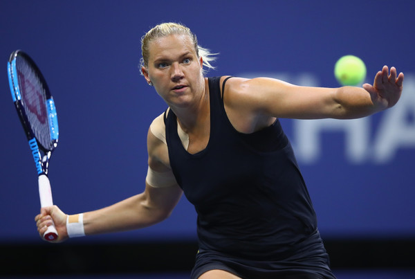 Kaia Kanepi put up a tough fight today | Photo: Clive Brunskill/Getty Images North America