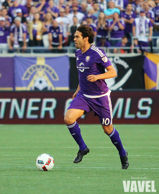 Kaká's overall influence on a game will be missed by Orlando | Source: Bernie Walls/VAVEL