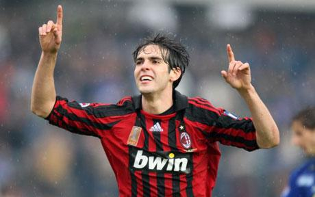 Kaka was a shining light in Ancelotti's side, what Milan would give for a player of his talent / The Telegraph