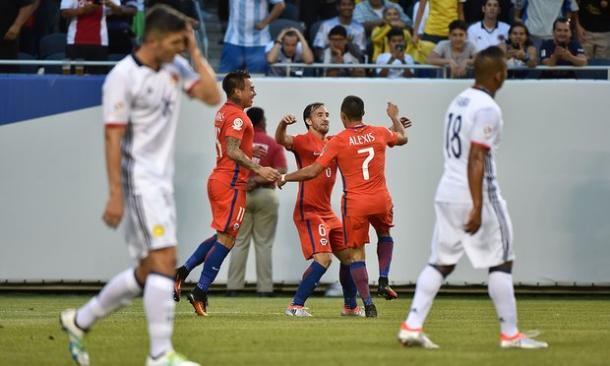 L'altro big match dell'undicesima giornata: Colombia-Cile