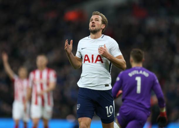 Kane é principal esperança dos torcedores dos Spurs (Foto: John Patrick Fletcher/Action Plus/Getty Images)