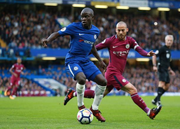 Kanté não joga pelo Chelsea desde a derrota para o Manchester City (Foto: John Patrick Flethcer/Action Plus/Getty Images)