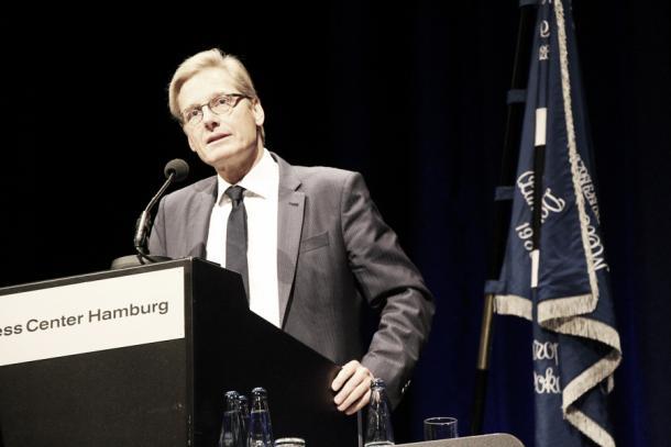 Will jetzt noch mehr auf die eigene Jugend setzen: Aufsichtsratschef Karl Gernandt. Foto: Niklas Heiden