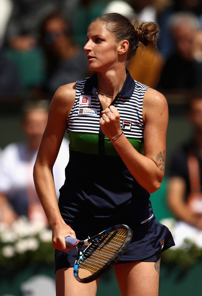 Karolina Pliskova surprisingly reached the semifinals at the French Open | Photo: Julian Finney/Getty Images Europe