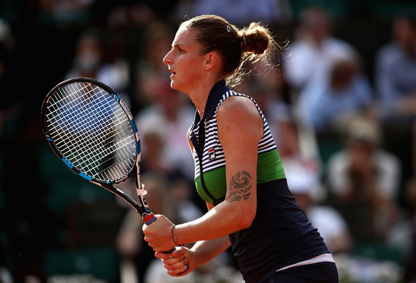Karolina Pliskova in action | Photo: Julian Finney/Getty Images Europe
