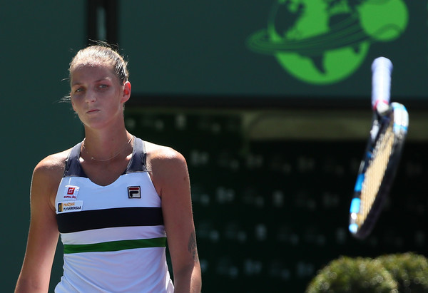 Karolina Pliskova would be frustrated with herself today | Photo: Al Bello/Getty Images North America