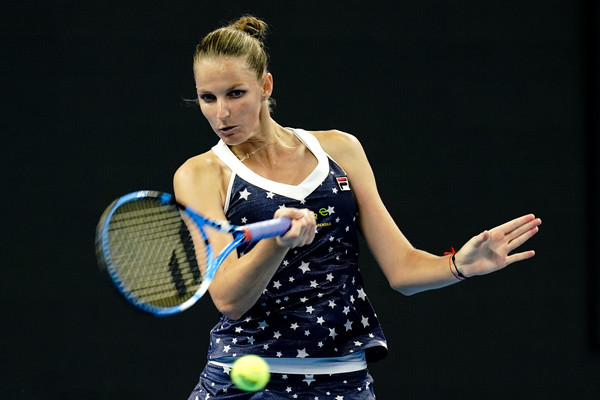Karolina Pliskova survived an early onslaught by Garcia | Photo: Lintao Zhang/Getty Images AsiaPac