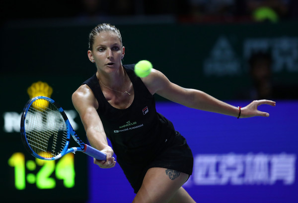 Karolina Pliskova will be extremely proud of her performance today | Photo: Clive Brunskill/Getty Images AsiaPac