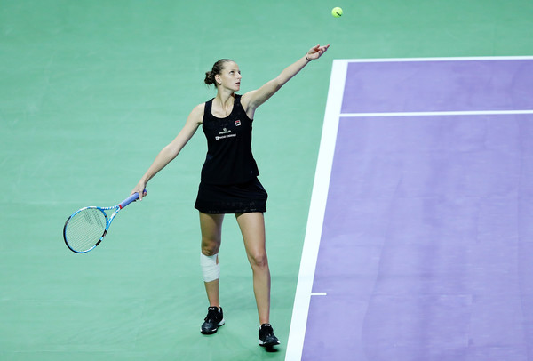 Karolina Pliskova's serving was relentless today | Photo: Matthew Stockman/Getty Images AsiaPac