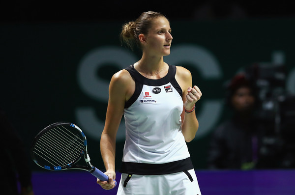Karolina Pliskova would be looking for more success in Singapore | Photo: Clive Brunskill/Getty Images AsiaPac