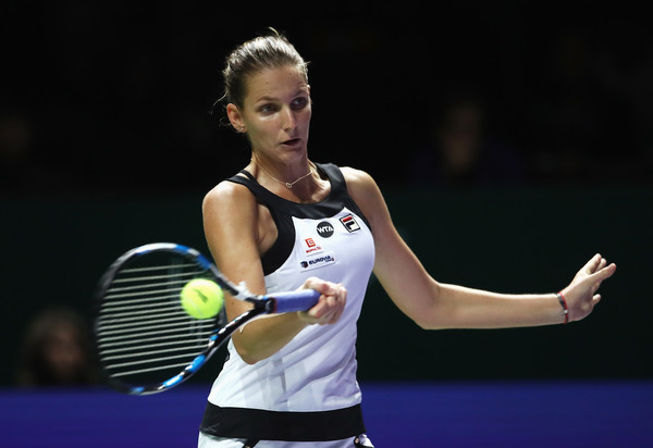 Karolina Pliskova has a 1-2 career record at the WTA Finals | Photo: Julian Finney/Getty Images AsiaPac
