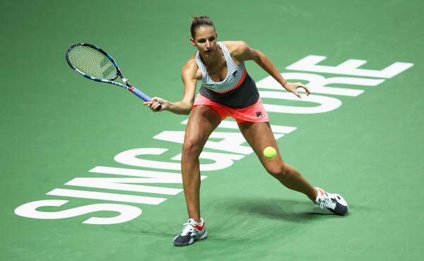 Karolina Pliskova secures BNP Paribas WTA Finals semi-final spot