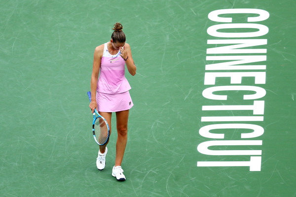 It was yet another poor loss for Karolina Pliskova | Photo: Maddie Meyer/Getty Images North America