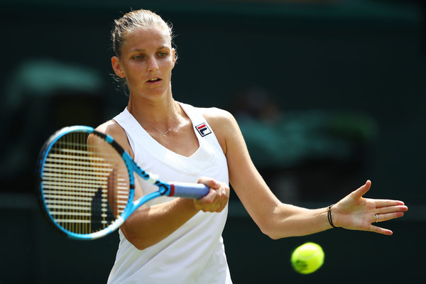 Karolina Pliskova in action at Wimbledon | Photo: Clive Mason/Getty Images Europe