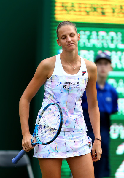 It was a poor day at the office for Pliskova today | Photo: Jordan Mansfield/Getty Images Europe