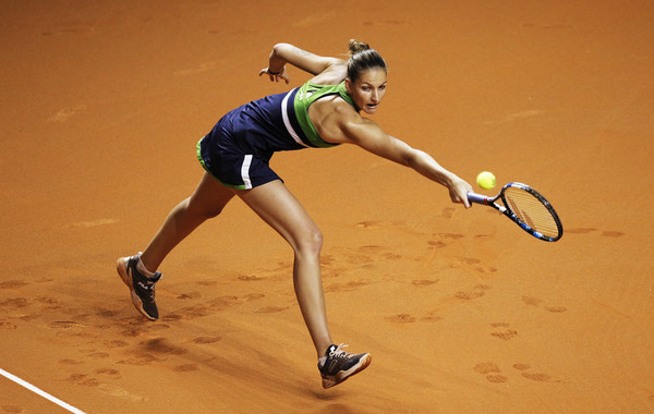 Karolina Pliskova disappointingly fell to Laura Siegemund in Stuttgart last week | Photo: Adam Pretty/Bongarts